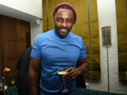 BERLIN, GERMANY - FEBRUARY 22: Idris Elba enjoying a Grey Goose Espresso Martini cocktail during the Grey Goose after-party for Idris Elba's film 'Yardie', hosted at Soho House Berlin on February 22, 2018 in Berlin, Germany. (Photo by Zacharie Scheurer/Getty Images for Grey Goose Vodka)