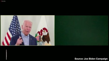 Joe Biden Full Virtual Town Hall Disaster With Screaming Baby and Other Technical Difficulties
