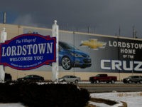 LORDSTOWN, OH - MARCH 06: The GM Lordstown plant is shown on March 6, 2019 in Lordstown, Ohio. The sprawling facility was idled today after more than 50 years producing cars and other vehicles, falling victim to changing U.S. auto preferences, according to the company. (Photo by Jeff Swensen/Getty Images)