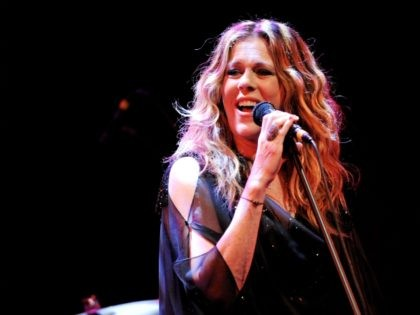 WEST HOLLYWOOD, CA - MAY 04: Actress/singer Rita Wilson performs at The Troubadour on May 4, 2012 in West Hollywood, California. (Photo by Kevin Winter/Getty Images)