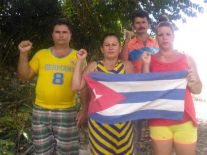 Cubans protest the Castro regime refusing to impose safety measures amid the global Chinese coronavirus pandemic, March 19, 2020.