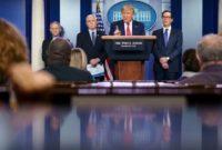 Trump coronavirus briefings become mini election rallies