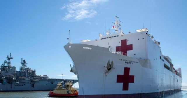 Us Navy Hospital Ship Reaches Virus Struck Los Angeles