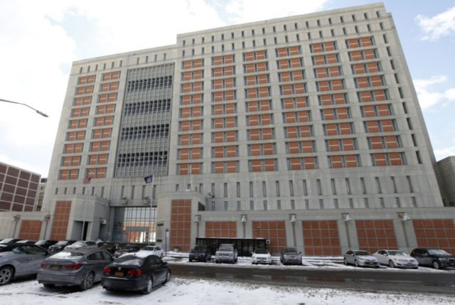 This Jan. 8, 2017 file photo shows the Metropolitan Detention Center in the Brooklyn borough of New York. The federal Bureau of Prisons announced on Saturday, March 20, 2020, that an inmate at the federal jail has tested positive for coronavirus, marking the first confirmed case in the federal prison …