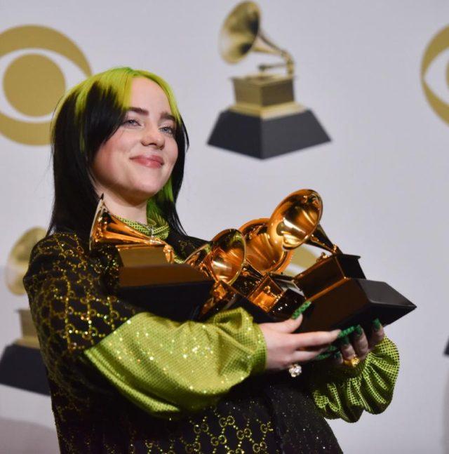 Billie Eilish, Mariah Carey Perform During Elton John's