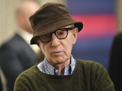 "Director Woody Allen attends a special screening of ""Wonder Wheel"", hosted by Amazon Studios, at the Museum of Modern Art on Tuesday, Nov. 14, 2017, in New York. (Photo by Evan Agostini/Invision/AP)"