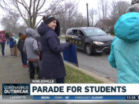WATCH: Teachers Host Parade to Lift Students' Spirits During Coronavirus Lockdown