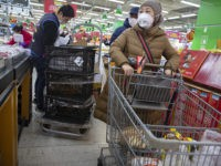 Chinese Stock Up On Food Amid Coronavirus Shortage Fears