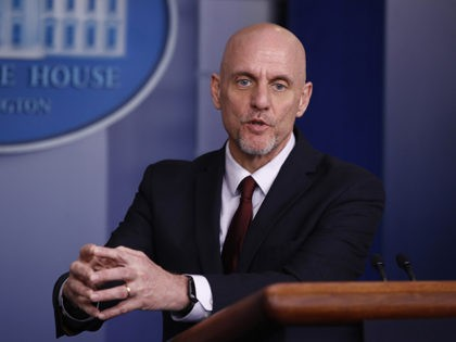 Food and Drug Administration Commissioner Dr. Stephen Hahn speaks during a coronavirus task force briefing at the White House, Saturday, April 4, 2020, in Washington. (AP Photo/Patrick Semansky)