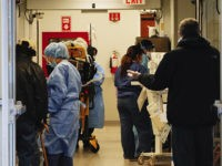 Photo by: John Nacion/STAR MAX/IPx 2020 4/7/20 Scenes of NYC during the Coronavirus Pandemic. Lenox Hill Hospital