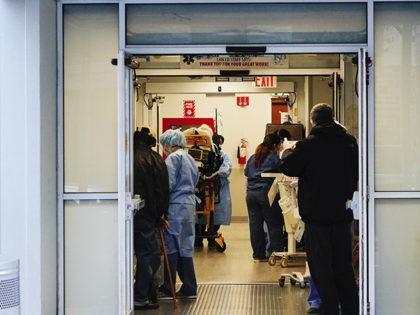 Photo by: John Nacion/STAR MAX/IPx 2020 4/7/20 Scenes of NYC during the Coronavirus Pandemic. Lenox Hill Hospital