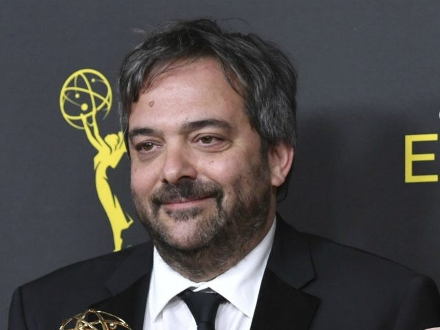 "FILE - This Sept. 14, 2019 file photo shows Adam Schlesinger, winner of the awards for outstanding original music and lyrics for ""Crazy Ex Girlfriend,"" in the press room at the Creative Arts Emmy Awards in Los Angeles. Schlesinger, an Emmy and Grammy winning musician and songwriter known for his …"