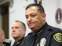 Houston Police Chief Art Acevedo - AP File Photo