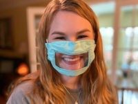 Kentucky College Student Makes Masks for Hearing Impaired