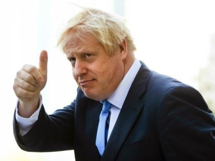 Britain's Prime Minister Boris Johnson gestures as he departs from Hudson Yards, in New York, Tuesday, Sept. 24, 2019. In a major blow to Johnson, Britain's highest court ruled Tuesday that his decision to suspend Parliament for five weeks in the crucial countdown to the country's Brexit deadline was illegal. …