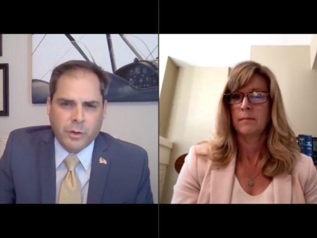 CA-25 Mike Garcia and Christy Smith (Screenshot / Youtube)