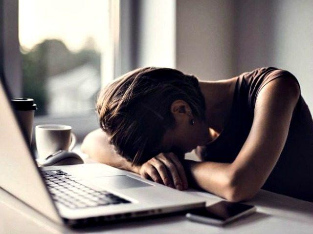 Depressed Woman on Lockdown