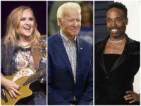 Melissa Etheridge, Billy Porter to Appear in Joe Biden's Virtual Fundraiser/AP