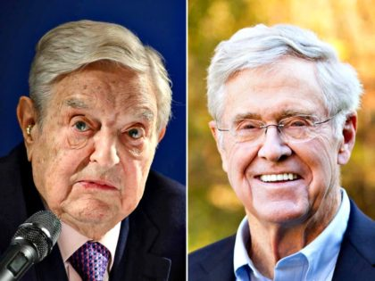 George Soros and Charles Koch