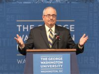 George Washington University President Thomas LeBlanc