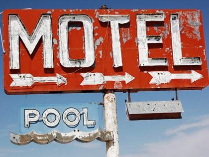 Abandoned motel.