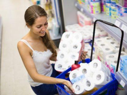 Consumer goods sales rise as coronavirus pandemic intensifies.