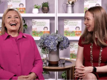 "Hillary and Chelsea Clinton Promote ""Grandma's Garden"" Book"