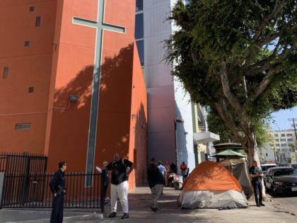 Union Rescue Mission (Joel Pollak / Breitbart News)