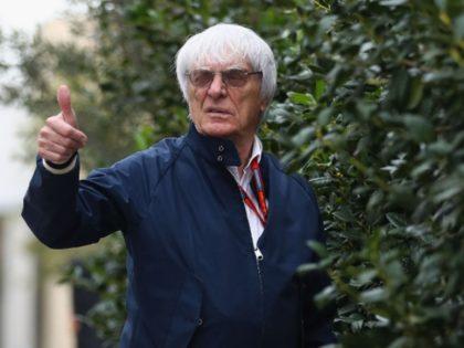 Former Formula 1 Boss Bernie Ecclestone Sires Baby at 89