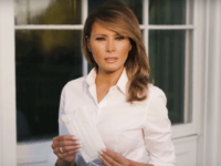Watch: Melania Trump Demonstrates Importance of Face Masks to Slow Coronavirus Spread