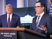 Steven Mnuchin Speeds Up First Round of Coronavirus Relief for Americans to Two Weeks