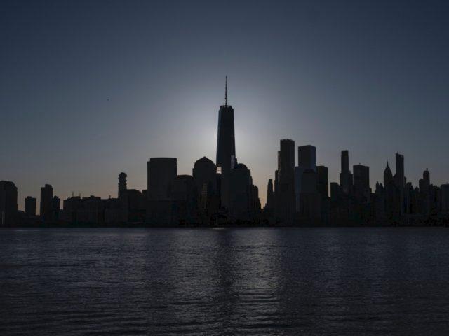 New York City skyline at sunrise (Johannes Eisele / AFP / Getty)