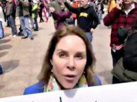 Ohio Protester Against Shutdown
