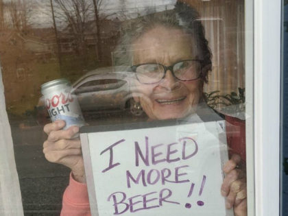 93-Year-Old Pleads for 'More Beer' During Coronavirus Pandemic