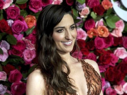 Photo by: zz/Dennis Van Tine/STAR MAX/IPx 2018 6/10/18 Sara Bareilles at The 72nd Annual Tony Awards held at Radio City Music Hall in New York City. (NYC)
