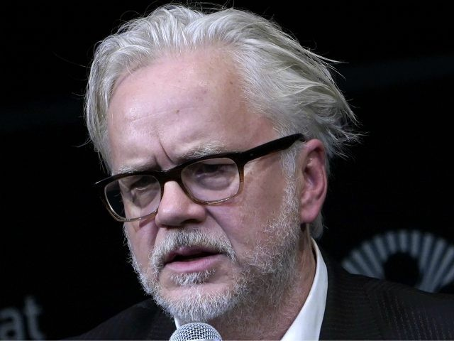 """NEW YORK, NEW YORK - OCTOBER 03: Tim Robbins speaks during """"45 Seconds Of Laughter"""" at 57th New York Film Festival at Walter Reade Theater on October 03, 2019 in New York City. (Photo by John Lamparski/Getty Images for Film at Lincoln Center)"""