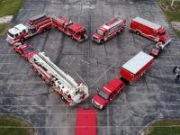 VIDEO: Firefighters Give Heartfelt Tribute to Healthcare Workers Battling Coronavirus