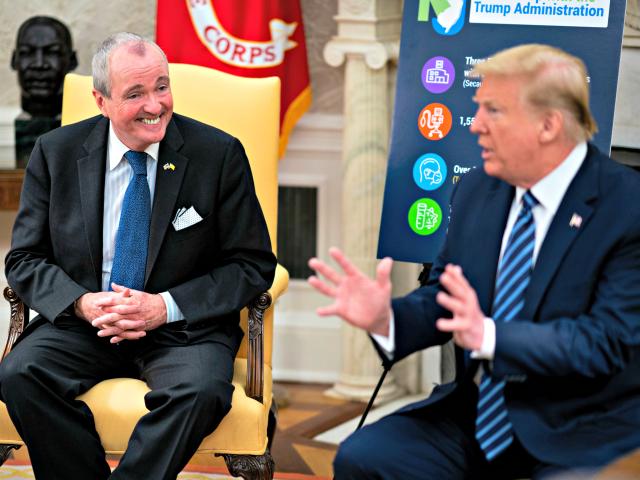 Gov. Murphy Thanks Trump for Coronavirus Help 'In Our Darkest Hour'