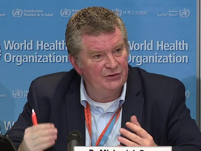 Screen capture from the March 30, 2020, daily press briefing on coronavirus COVID-19 with WHO Director-General, Dr Michael Ryan.