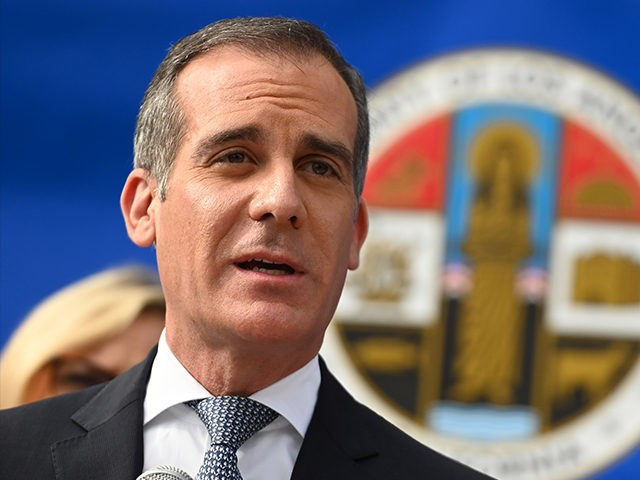 L.A. Mayor Eric Garcetti: Cuts to Police Did Not Lead to Homicide Spike