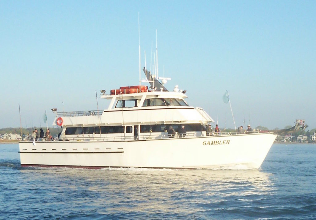The Gambler, a party boat located in Point Pleasant Beach, New Jersey.