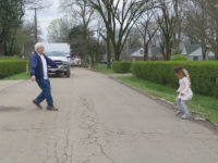 WATCH: Girl Dances with Beloved Grandpa While Social Distancing