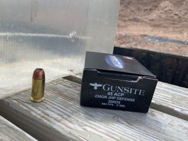 gunsite round