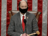 Democrat Congressman Gavels In House of Representatives Wearing Coronavirus Mask