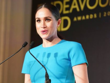 05/03/2020 - Meghan Markle Duchess of Sussex at the annual Endeavour Fund Awards held at Mansion House in London. Their Royal Highnesses will celebrate the achievements of wounded, injured and sick servicemen and women who have taken part in remarkable sporting and adventure challenges over the last year. Photo Credit: …