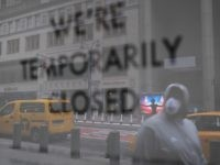 NEW YORK, NY - APRIL 10: The streets of Manhattan stand nearly empty due to the coronavirus epidemic on April 10, 2020 in New York City. According to John Hopkins University, the global death toll from COVID-19 has now reached 100,000 worldwide with many experts believing that the number is …