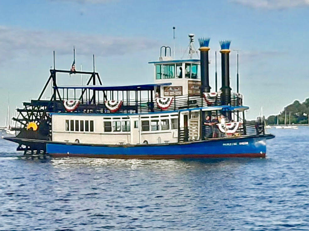 The Navesink Queen, a touring boat in Atlantic Highlands, New Jersey