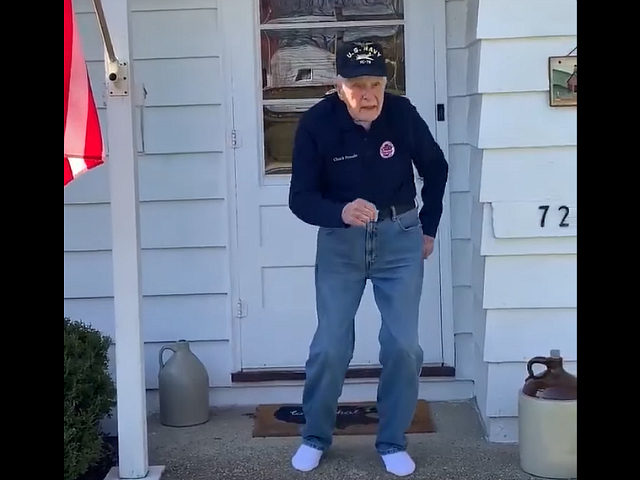 WATCH: WWII Veteran Dances to 'Can't Stop the Feeling' in Quarantine