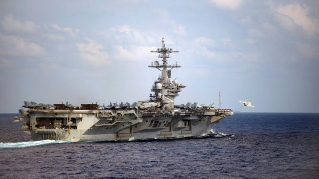 US Navy evacuating virus-struck aircraft carrier Roosevelt