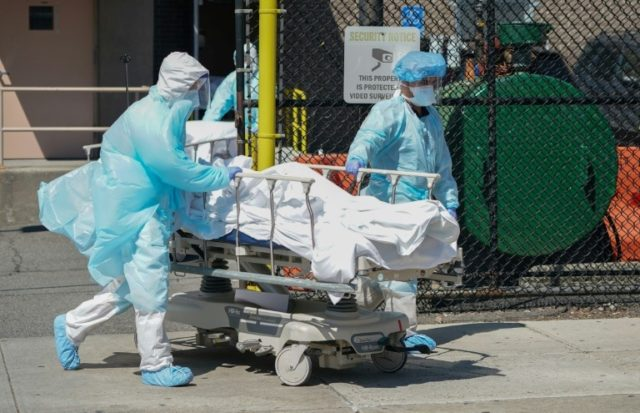 New York registers record 731 virus deaths in 24 hours